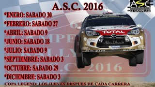 8ª carrera campeonato rally-slot campello 2016
