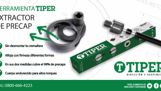 Noticias tiper - direccion y suspension