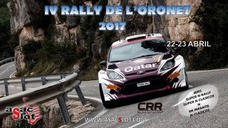 IV RALLY DE L'ORONET (22-23 de abril)