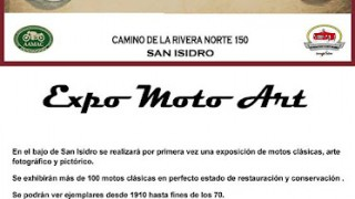 San isidro bs as arg : este fin de semana largo expo moto art 2018