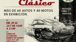 Berazategui : 20 al 23 de julio 6to salon automovil clasico