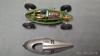 Belly Tank 1/32 Slot Car