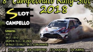 4ª carrera 2018 en slot campello